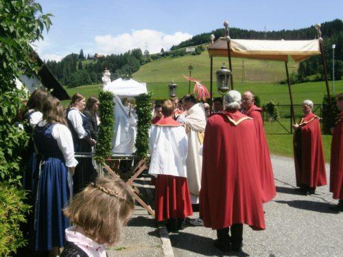 Feier der Hl. Messe (© Foto: Elisabeth Wechselberger)