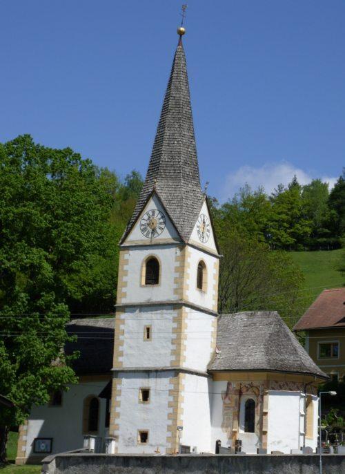Pfarrkirche Petschnitzen | Farna cerkev Pečnica Foto:© Marjan Gallob