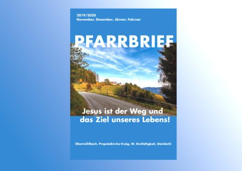 Pfarrbrief November bis Februar 2020