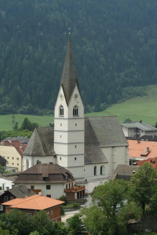 Pfarrkirche Obervellach St. Martin (© Foto: Daniela Liebhart-Koch)