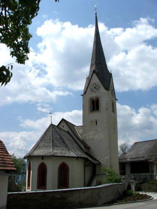 Kirche St. Leonhard in Treffling (© Foto: Pf. Seeboden)