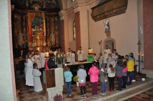 Sonntagsmesse in der Pfarrkirche von Kindberg (© Foto: Pfarre Kindberg)