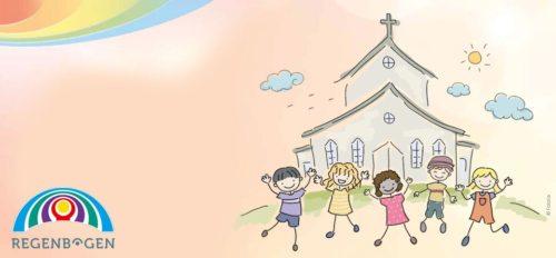 Mit dem Regenbogen zur Erstkommunion