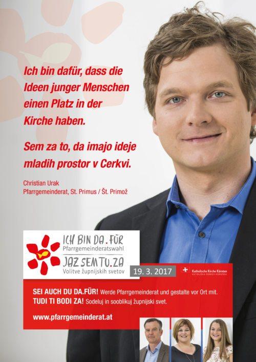 Christian Urak  (© Foto: PGR-Referat )