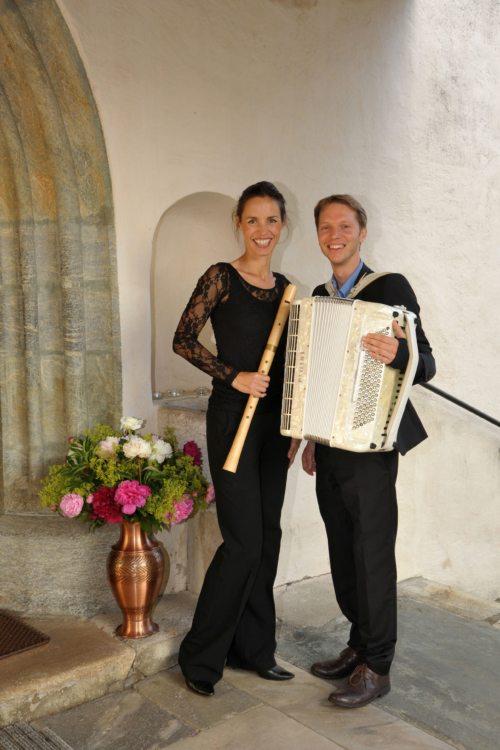 Annemarie Podesser und Daniel Stratznig (© Foto: Berta Podesser)