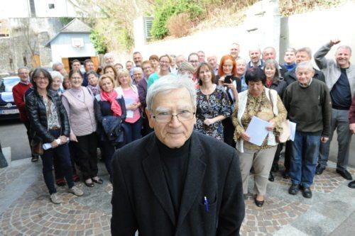 Jože Ropitz z letošnjimi udeleženci seminarja (Gotthardt)