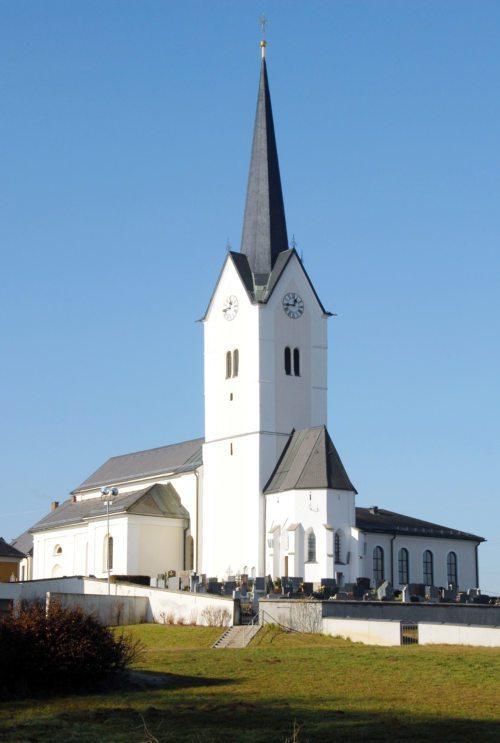 Pfarrkirche St. Kanzian - farna cerkev Škocjan (© Foto: slika: privat)