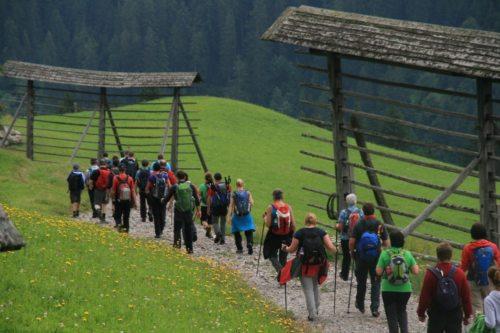 Den Pilgern auf der Spur (© Foto: Brigitte Lugger)