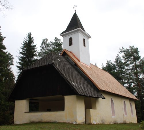 Filialkirche St. Gertraud | Podružnica Šentjedert © Foto: Pfarrarchiv