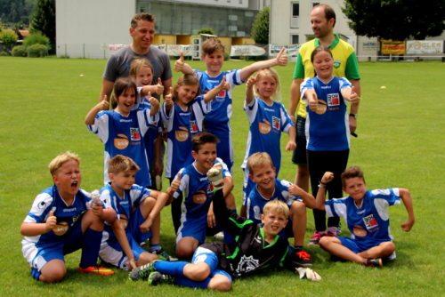 Sieger der Gruppe 1 - die Jungschargruppe aus Pulst (© Foto: Lechner)
