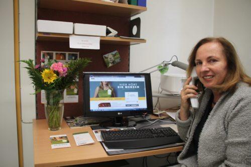 Silvana Fischer, Leiterin der Telefonseelsorge Kärnten (foto: caritas Kärnten)