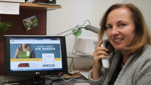 Silvana Fischer ist die Leiterin der TelefonSeelsorge in Kärnten (Foto: Caritas Kärnten)