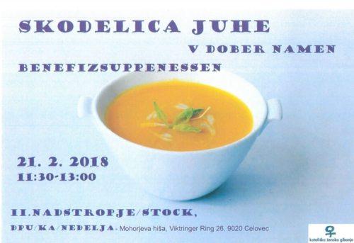 Skodelica juhe za pravičnejši svet (© Foto: zp)