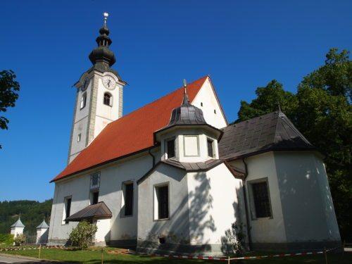 Die Filialkirche St. Franzisci/Želinje am Saalfelde in der Pfarre St. Margarethen ob Töllerberg/ Šmarjeta ist Austragungsort für den Radiogottesdienst am 4. August. Foto: Pressestelle
