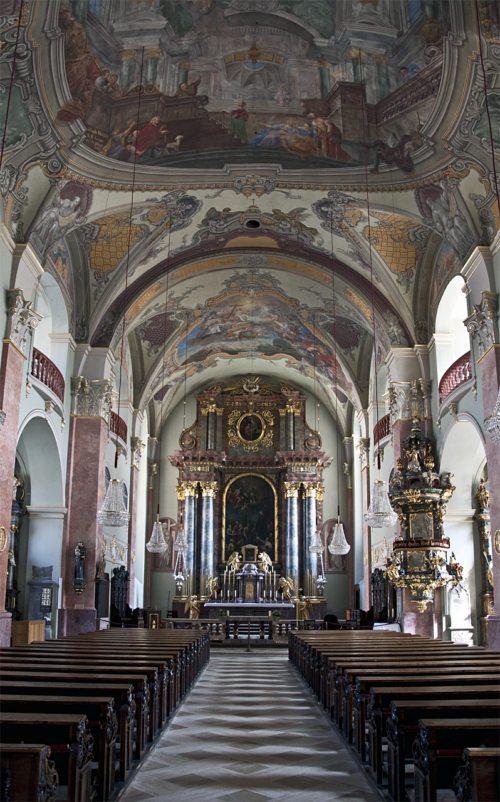Innenansicht von St. Egid (c) St. Egid