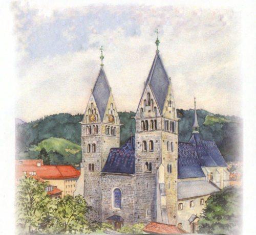 Propsteikirche von Friesach (© Foto: Dkfm Heinrich Sandler)