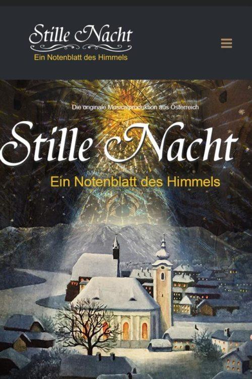 Historienmusical Stille Nacht - Homepage