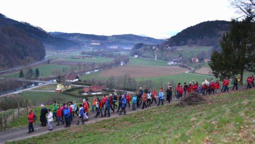 St. Pauler Drei-Berge-Wallfahrt (© Foto: Pfarre St. Paul i. Lav.)