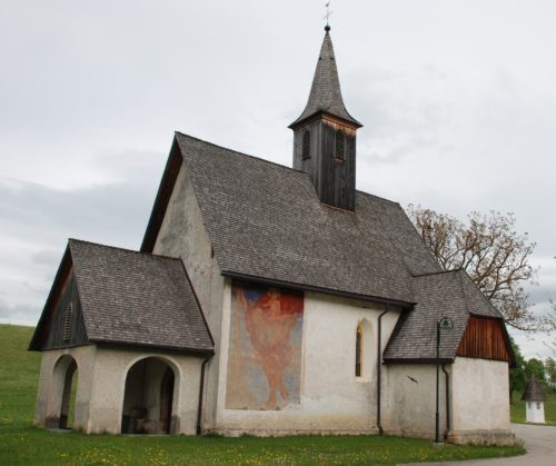 Filialkirche Schlatten | Podružnica Svatne © Foto: Pfarrarchiv