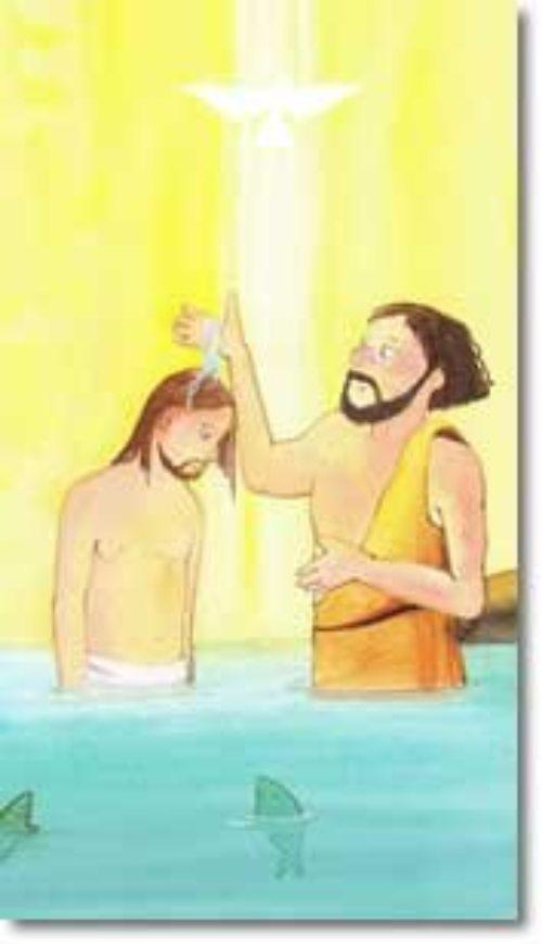 Taufe Jesu Geschichte Kinder