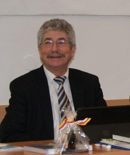 Fachinspektor Hofrat Boschitz (© Foto: Schulamt)