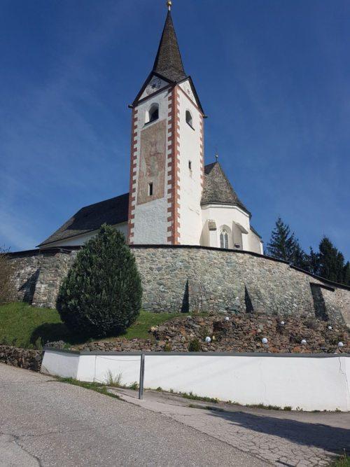 Pfarrkirche Timenitz (© Pressestelle der Diözese Gurk)