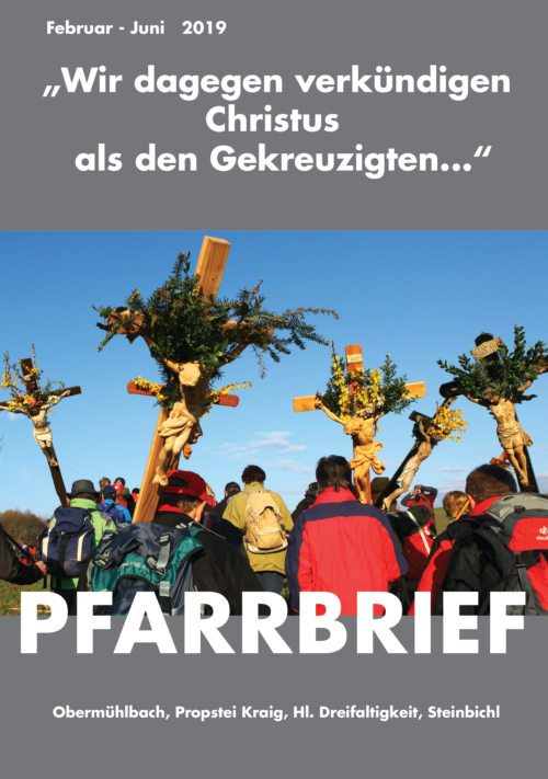 PFARRBRIEF Februar - Juni 2019