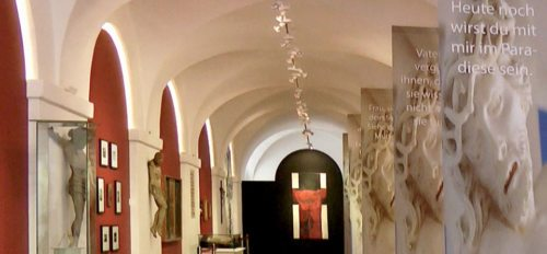 Mensch - Gott - Mythos | Eine Ausstellung im Stift St. Paul im Lavanttal. (© Foto: KH Kronawetter / Internetredaktion)
