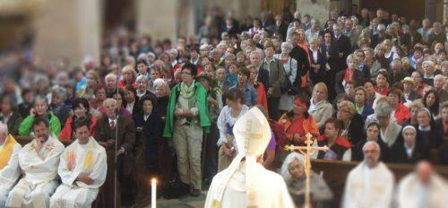 Ein geistlicher Impuls auf dem Weg zur Pforte der Barmherzigkeit von Michael Kapeller und Klaus Einspieler (© Foto: Karl-Heinz Kronawetter / Internetredaktion)