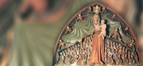 Die Verehrung der Gottesmutter im Marienmonat Mai (© Foto: Ellersdorfer / Schutzmantelmadonna in Ptujska Gora)