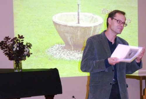 Theologe Dr. Michael Kapeller referierte im Jakobushaus in Villach-St. Jakob (© Foto: IH)