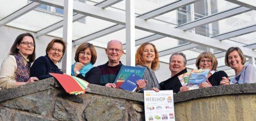 Das Web-Shop-Team freut sich auf Ihren Online-Besuch (Foto: KH Kronawetter)