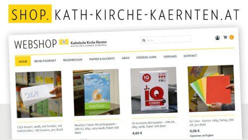 Der WebShop von Behelfsdienst, Regenbogen und Druck- &Kopiezentrum bietet jede Menge Auswahl! Bild:DKZ