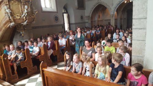 Kinder und Jugendgottesdienst in der Pfarre. Bild: Redaktion