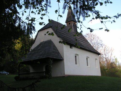 BildunterschrWindische Weinbergkirche (Foto: Pfarre St. Martin)