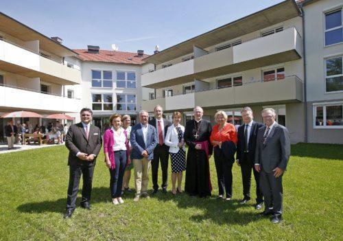 """Feierliche Eröffnung der Wohnanlage """"Lebensräume für Jung und Alt"""" in Klagenfurt (© Foto: Pressestelle/Eggenberger )"""