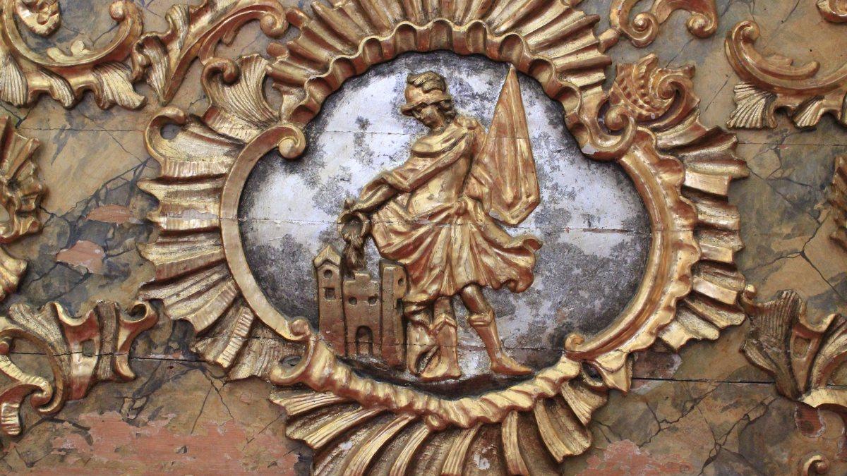 Florianaltar in der Pfarrkirche Metnitz (https://commons.wikimedia.org/wiki/File:Metnitz_-_Pfarrkirche_-_Florianaltar3.JPG)